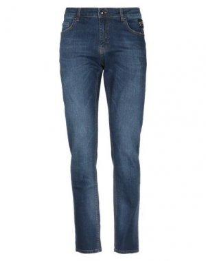 Джинсовые брюки CAVALLI CLASS. Цвет: синий