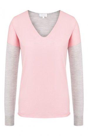Шерстяной пуловер Escada Sport. Цвет: светло-розовый