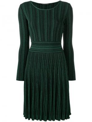 Ребристое платье с блестками Antonino Valenti