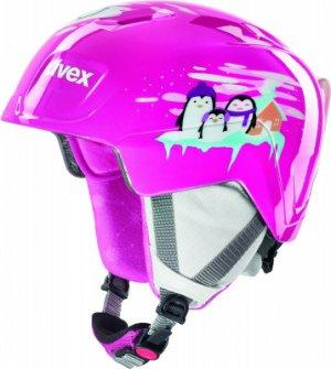 Шлем детский Manic Uvex. Цвет: фиолетовый