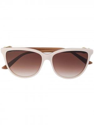 Солнцезащитные очки C Décor Cartier. Цвет: нейтральные цвета