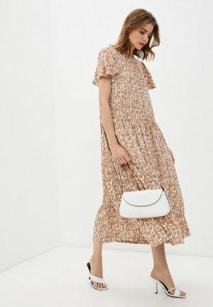 Платье InWear. Цвет: коричневый