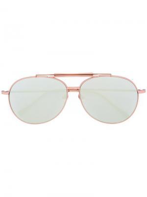 Солнцезащитные очки Pilot Bottle Zero Frency & Mercury. Цвет: металлический