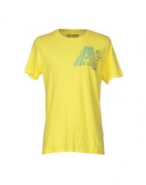 Футболка AÉROPOSTALE. Цвет: желтый