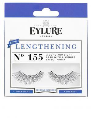 Накладные ресницы Lengthening № 155-Черный цвет Eylure