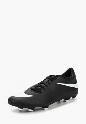 Бутсы Nike Mens Bravata II (FG) Firm-Ground Football Boot. Цвет: черный