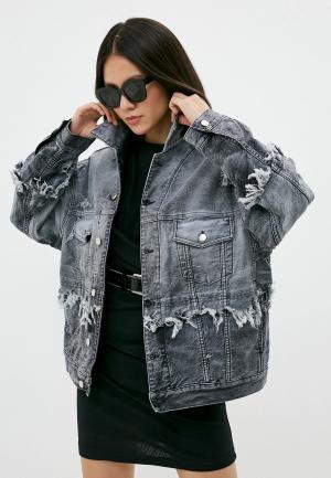 Куртка джинсовая Iro. Цвет: серый