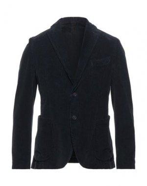 Пиджак FAAG. Цвет: темно-синий