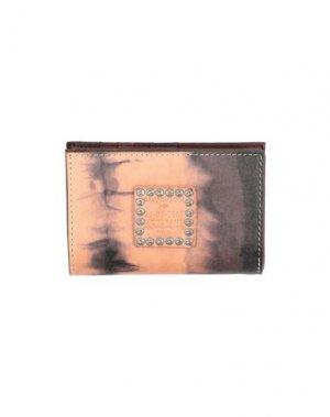 Бумажник CAMPOMAGGI. Цвет: бежевый