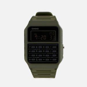 Наручные часы Vintage CA-53WF-3BEF CASIO. Цвет: оливковый