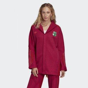 Пиджак Originals adidas. Цвет: красный
