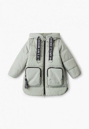 Куртка утепленная Boom. Цвет: бирюзовый
