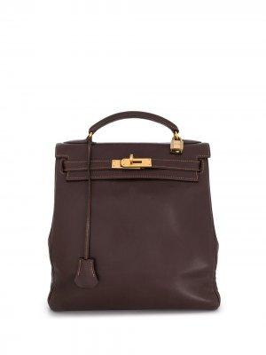 Рюкзак Kelly Ado pre-owned Hermès. Цвет: коричневый
