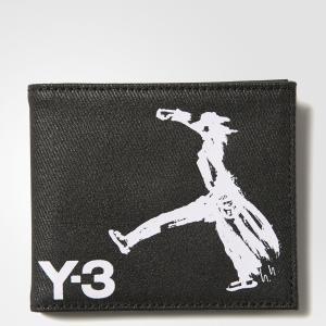 Кошелек Y-3 Yohji Bi-Fold by adidas. Цвет: черный