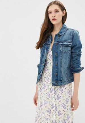Куртка джинсовая Marks & Spencer MA178EWBKWB2. Цвет: синий