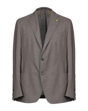 Пиджак CITY TIME. Цвет: светло-коричневый