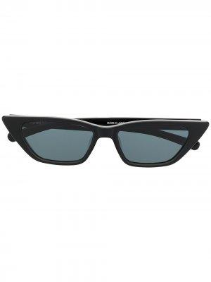 Солнцезащитные очки Molly AMBUSH. Цвет: черный