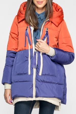 Куртка Joins. Цвет: orange, blue