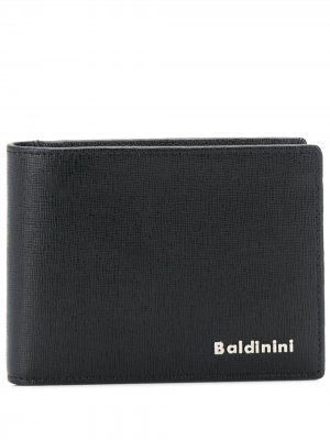 Кошелек с логотипом Baldinini. Цвет: черный