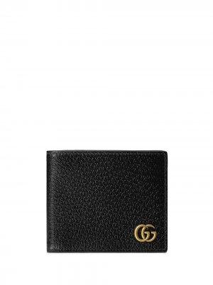 Кошелек GG Marmont Gucci. Цвет: черный