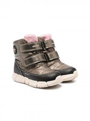 Ботинки Flexyper ABX Geox Kids. Цвет: коричневый