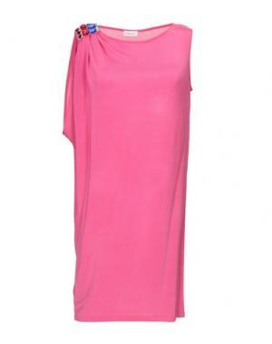 Короткое платье EMAMŌ. Цвет: розовый
