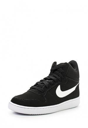 Кеды Nike Womens Court Borough Mid Shoe. Цвет: черный