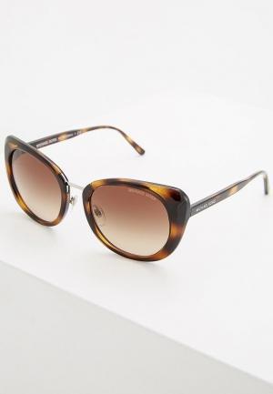 Очки солнцезащитные Michael Kors MK2062 328513. Цвет: коричневый