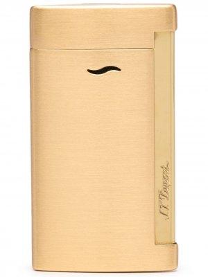 Зажигалка Slim 7 S.T. Dupont. Цвет: золотистый