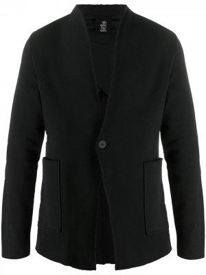 Однобортный пиджак узкого кроя Thom Krom. Цвет: черный