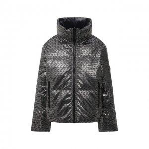 Пуховая куртка MICHAEL Kors. Цвет: чёрный