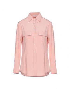 Pубашка GIO' MORETTI. Цвет: розовый