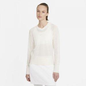 Женский свитер с длинным рукавом для гольфа Nike Ace - Белый