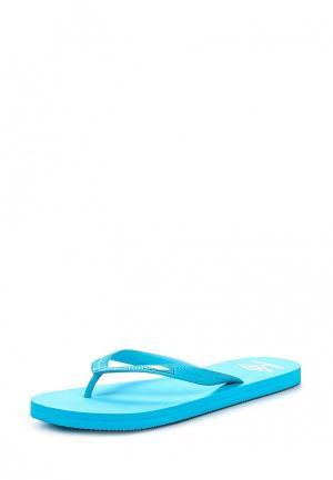 Сланцы Umbro FLIP FLOP. Цвет: голубой