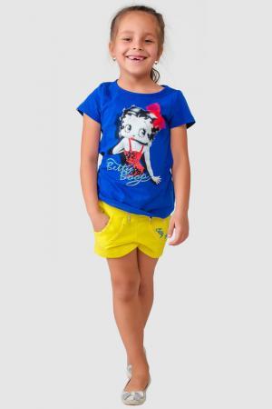 Шорты Betty Boop. Цвет: желтый
