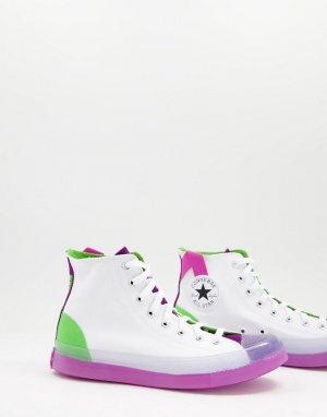 Белые высокие кроссовки Chuck Taylor All Star CX-Белый Converse