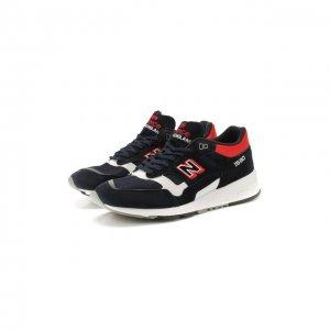 Комбинированные кроссовки 1530 New Balance. Цвет: синий