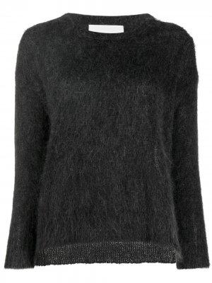 Пушистый свитер Denebola 8pm. Цвет: серый