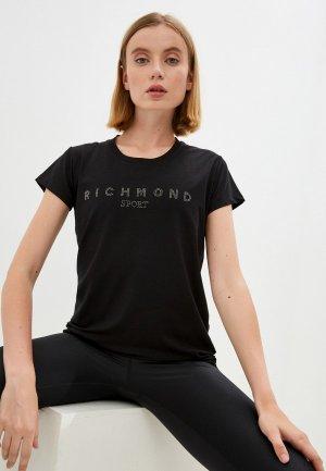 Футболка Richmond Sport. Цвет: черный