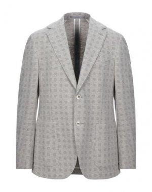 Пиджак CANTARELLI JERSEY PLANET. Цвет: светло-серый