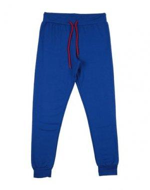 Повседневные брюки HENRY COTTON'S. Цвет: ярко-синий