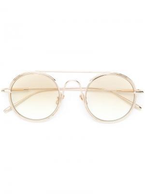 Солнцезащитные очки Checkmate Frency & Mercury. Цвет: золотистый