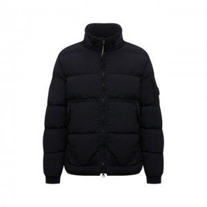Пуховая куртка C.P. Company. Цвет: синий