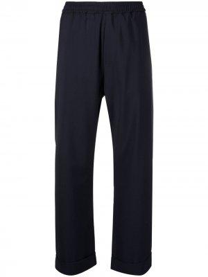 Расклешенные брюки с завышенной талией Barena. Цвет: синий