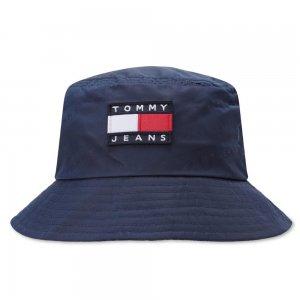 Heritage Jaquard Bucket Tommy Jeans. Цвет: синий