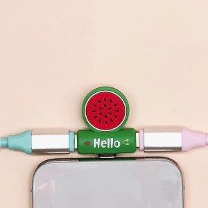 IPhone 2 в 1 конвертер для передачи данных SHEIN. Цвет: многоцветный
