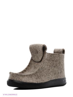 Валенки ШК обувь. Цвет: серо-коричневый