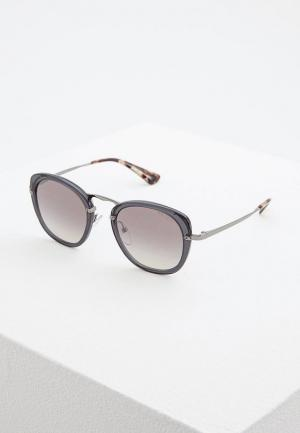 Очки солнцезащитные Prada PR 58US VXB5O0. Цвет: серый