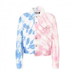 Джинсовая куртка x Paulas Ibiza Loewe. Цвет: разноцветный