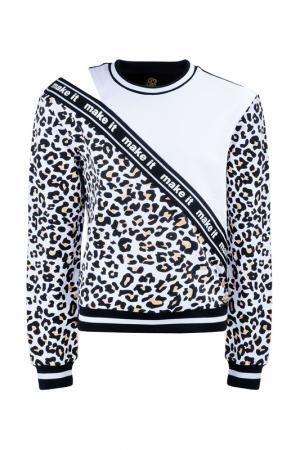 Пуловер STEFANIA. Цвет: белый, черный